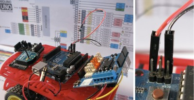 Robot Beginner Radio partenza step1