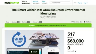 SmartCitizen kickstarter