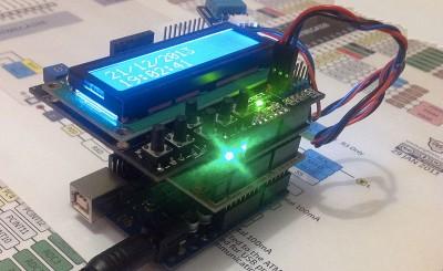 Datalogger Arduino LCD DHT11 montaggio