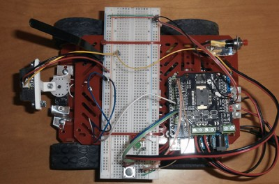 Robot 4WD alto
