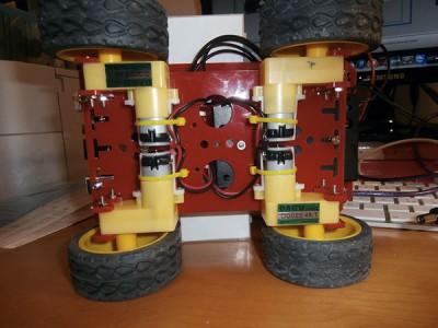 Robot 4WD motori