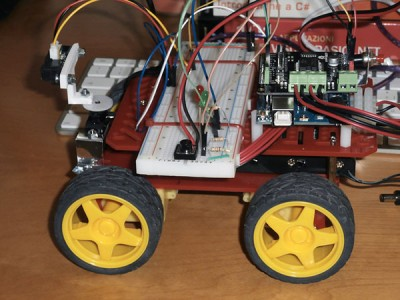 Robot 4WD laterale