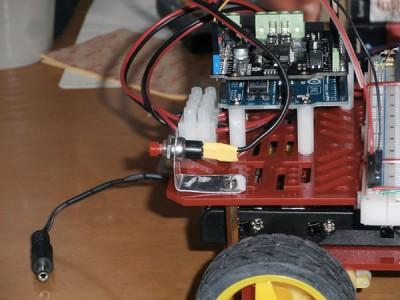 Robot 4WD pulsante selezione