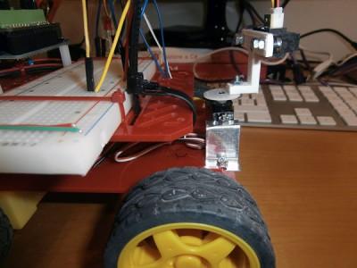 Robot 4WD  servomotore