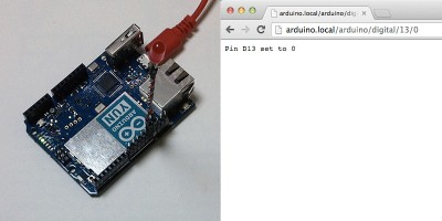 arduino yun bridge pin 13 LOW