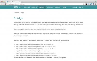 arduino yun bridge
