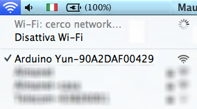 arduino yun wifi connect