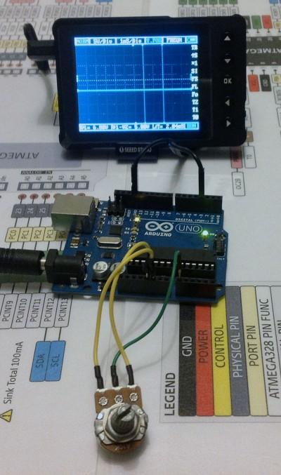 DSO Nano v3 arduino PWM