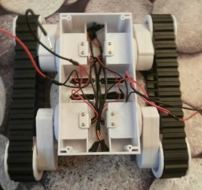 Sistemazione Cavi Rover 5