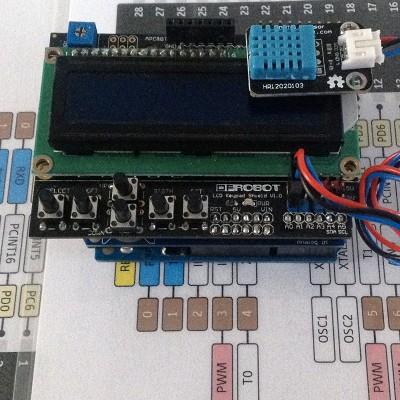 Datalogger arduino LCD 2