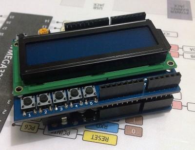 LCD 16x2 Blue LED Backlight