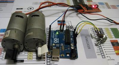 serial controller motor driver