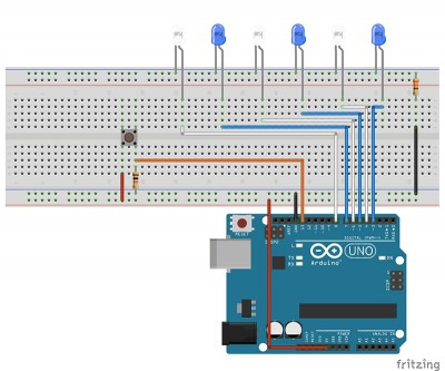 EEPROM led schema