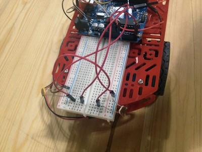 Robot Beginner Kit inseguitore fronte