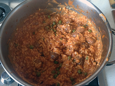 Sartù di riso mescola tutto