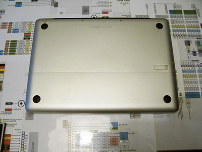 Sostituire Superdrive HDD close MacBook 2008