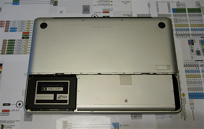 Sostituire Superdrive HDD