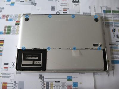 Sostituire Superdrive HDD pannello