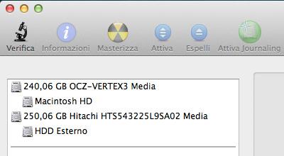 Sostituire Superdrive HDD vista secondo hdd