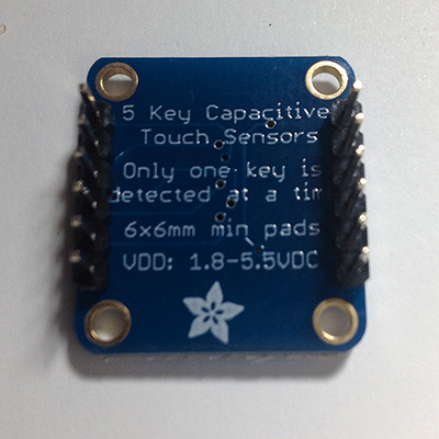 Touch Capacitive sensor montato