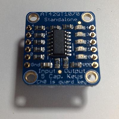 Touch Capacitive sensor pin