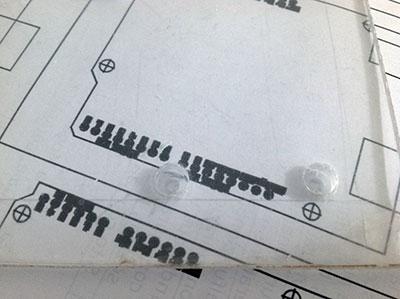 supporto arduino cad plexyglass forato