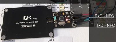 NFC Arduino collehamenti nfc