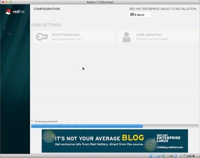 RedHat Enterprise Linux 7 generazione initramfs