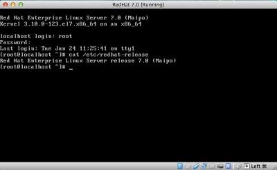 RedHat Enterprise Linux 7 redhat release