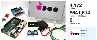 UDOO Quad kickstarter