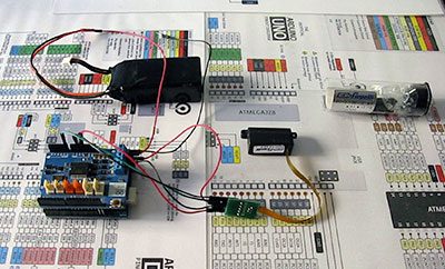 firgelli arduino control