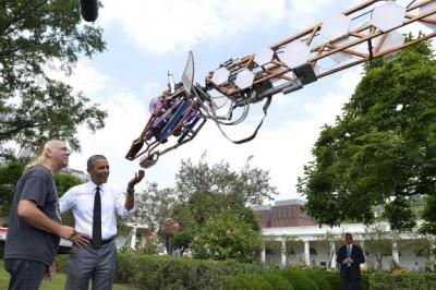 maker faire white house giraffa