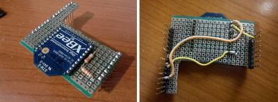 robot hand XBee elettronica modulo xbee