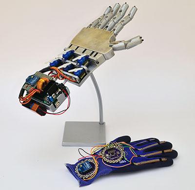 robot hand xbee