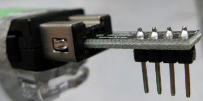 beginner kit nunchuck adattatore montato