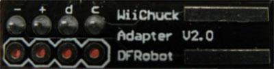 beginner kit nunchuck adattatore