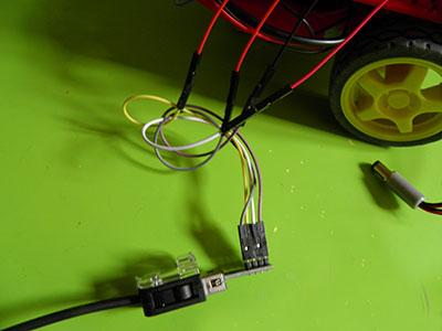 beginner kit nunchuck collegamenti connettore