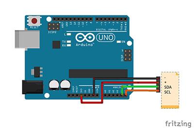 beginner kit nunchuck schema collegamenti