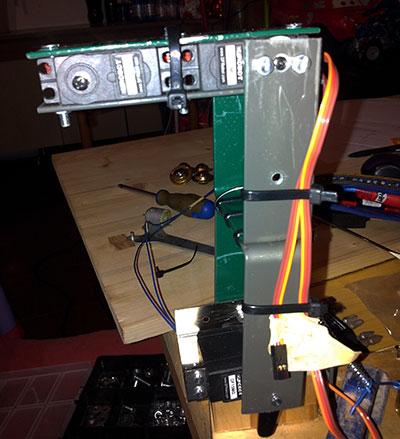braccio robot montaggio avambraccio