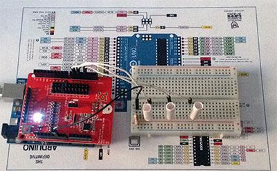 Bluetooth Low Energy Shield led pwm