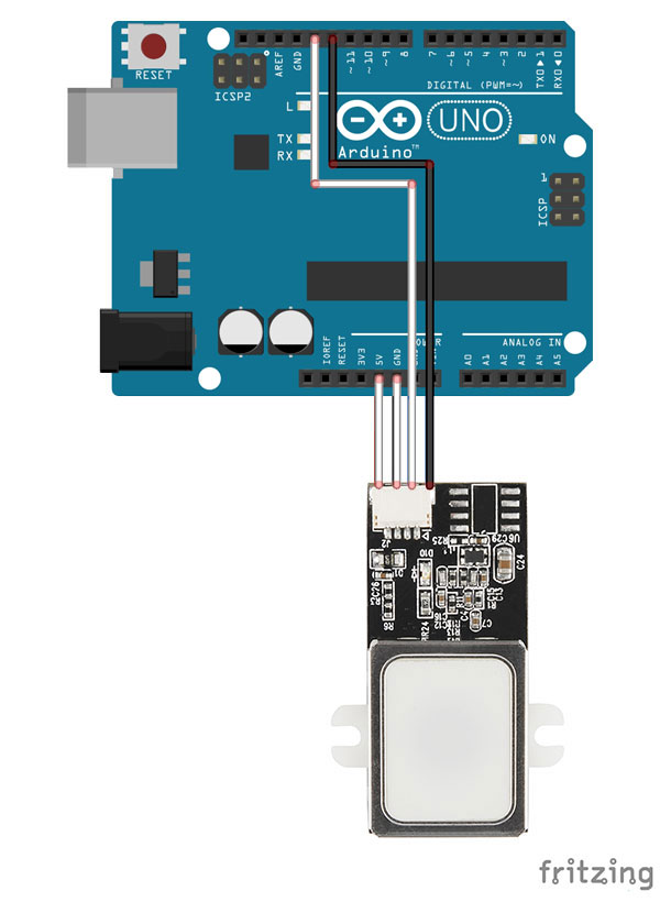 Arduino Raspberry compatibile Impronte Digitali Fingerprint modulo scanner