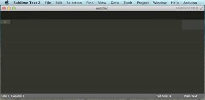 Sublime Text Arduino IDE 1.5.6r2 Arduino menu