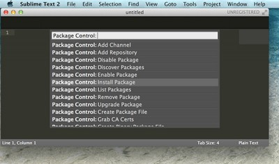 Sublime Text Arduino IDE 1.5.6r2 install package