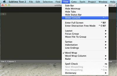 Sublime Text Arduino IDE 1.5.6r2 show console