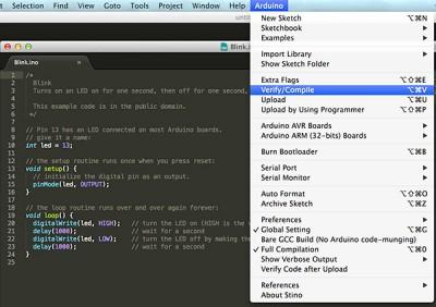 Sublime Text Arduino IDE 1.5.6r2 verify