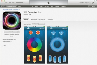 Wifi RGB iphone App Wifi Controller 2