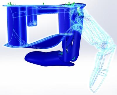 bionic hand evolution finite element analysis
