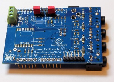 energy monitor shield SMT