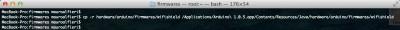 arduino WiFi shield copy firmware