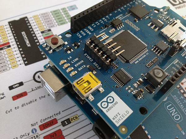 arduino wifi shield update firmware mac